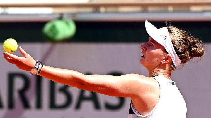 Barbora Krajcikova, against Coco Gauff