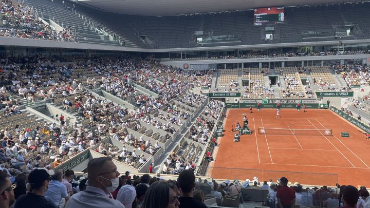The Philippe Chatrier at the Nadal-Schwartzman