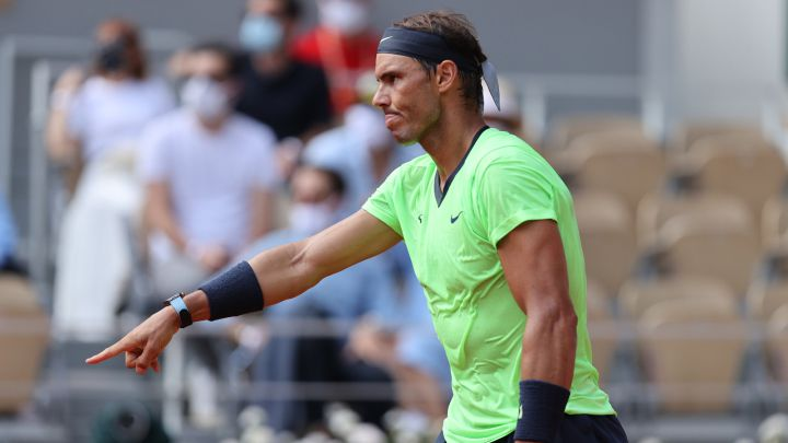 """Nadal: """"We have to get used to playing with the public again"""""""