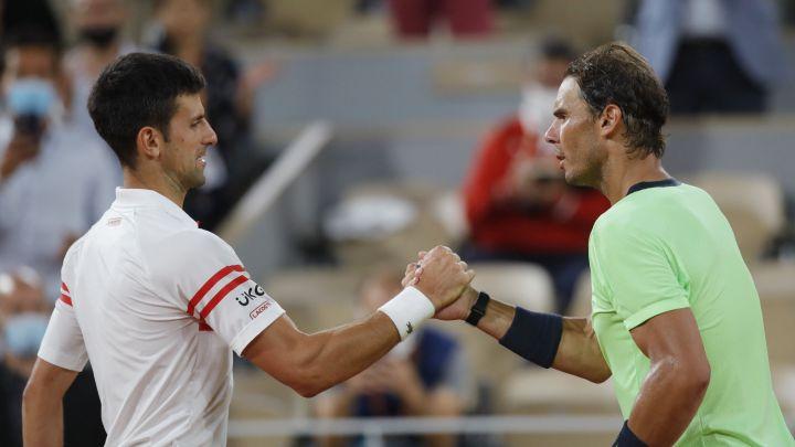Djokovic Nadal Roland Garros 2021