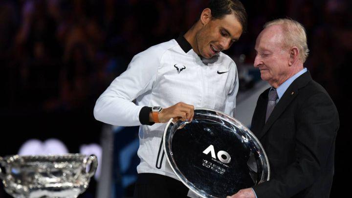 Rod Laver dismisses Nadal from the GOAT debate