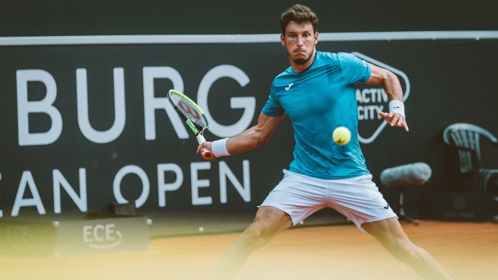 Bautista, to the semifinals of Bastad and Carballés, to those of Hamburg