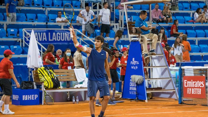Alcaraz climbs to 55th place in the ATP ranking
