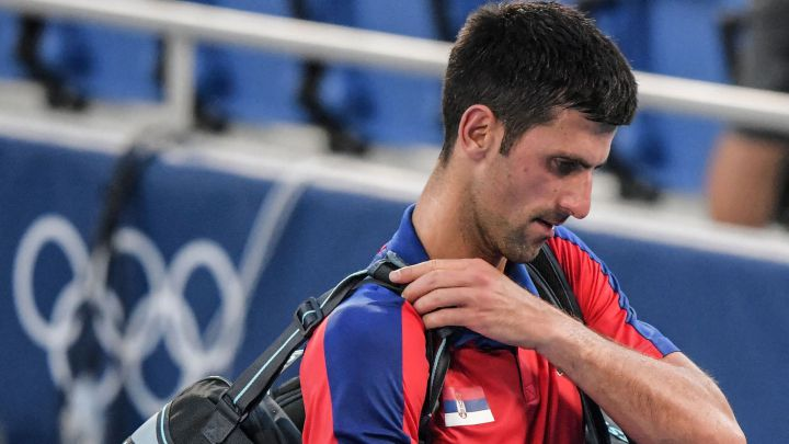 """Novak Djokovic: """"I gave everything to fight for a medal"""""""