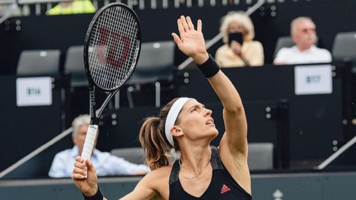 Andrea Petkovic and Mayar Sherif will play the final in Cluj-Napoca