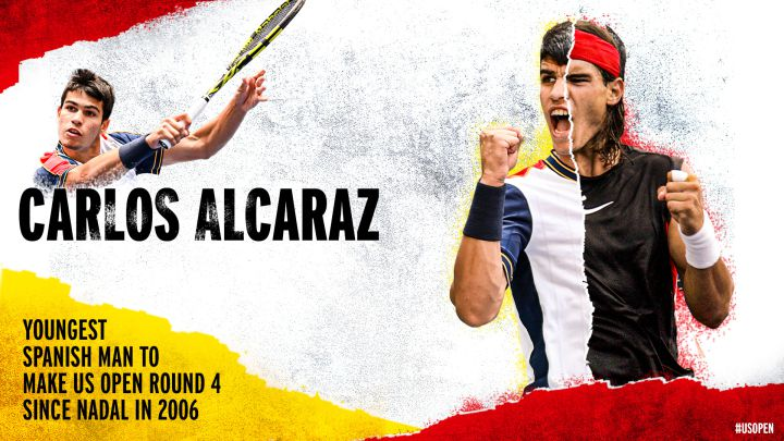 The data that unite Alcaraz with Chang, Sampras and Nadal
