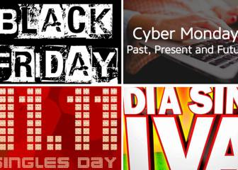Otros Black Friday: Cyber Monday, Single Day, Día sin IVA