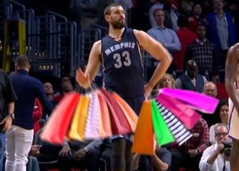 Marc Gasol, carne de meme en la NBA para el Black Friday