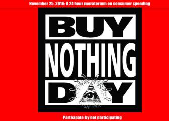 Buy Nothing Day: la lucha contra el Black Friday