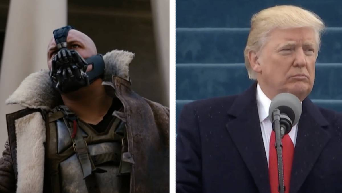 ¿Ha copiado Donald Trump el discurso del malo de Batman?