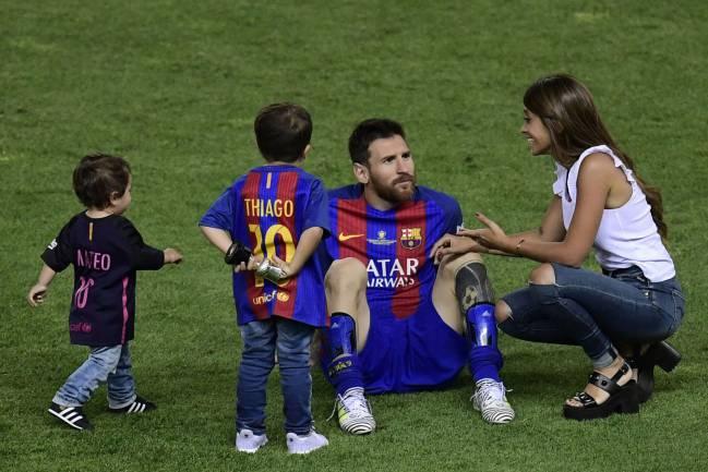 La Romántica Declaración De Antonella A Messi Y Sus Hijos Ascom