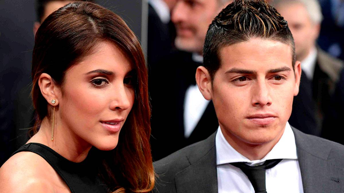 James Rodr Guez Y Daniela Ospina Anuncian Su Divorcio