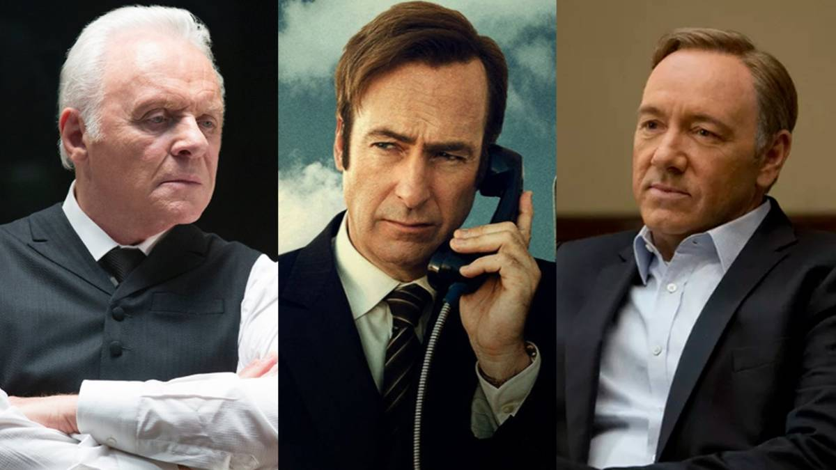 Anthony Hopkins, Bob Odenkirk y Kevin Spacey, nominados a los Emmy 2017.