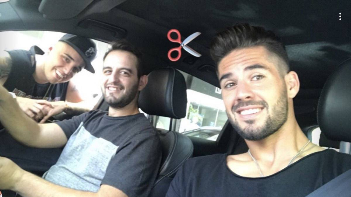 Isco sets social media ablaze with brand new haircut