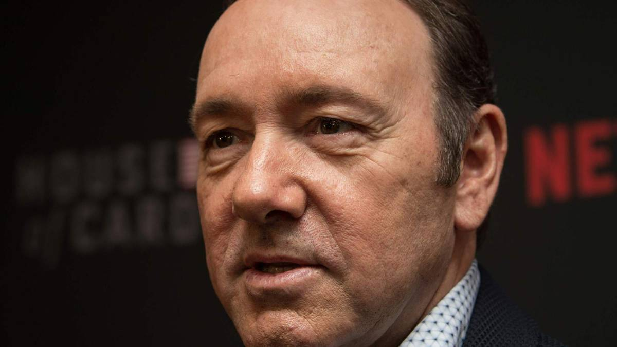 Kevin Spacey en la promoción de la cuarta temporada de House of Cards en 2016.