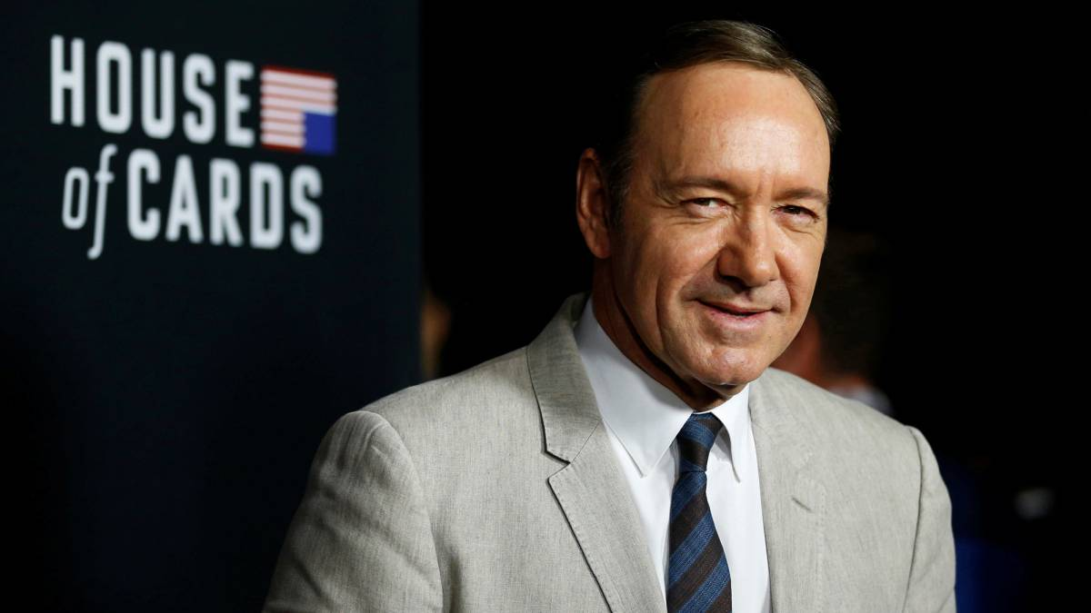 Kevin Spacey durante la presentación de House of Cards en 2014.