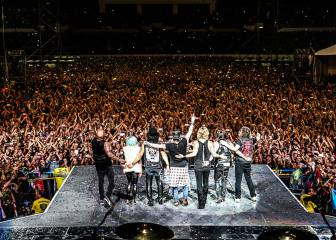 Guns N'Roses actuarán en Madrid y Barcelona