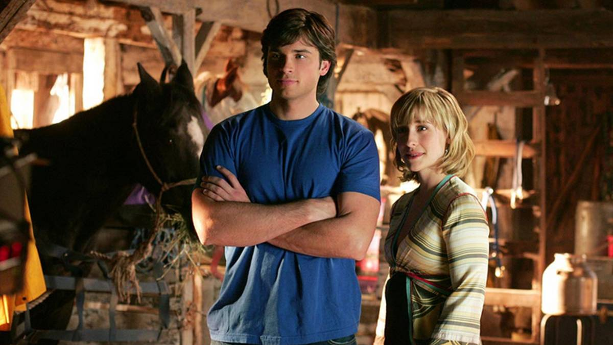 Allison Mack en Smallville.