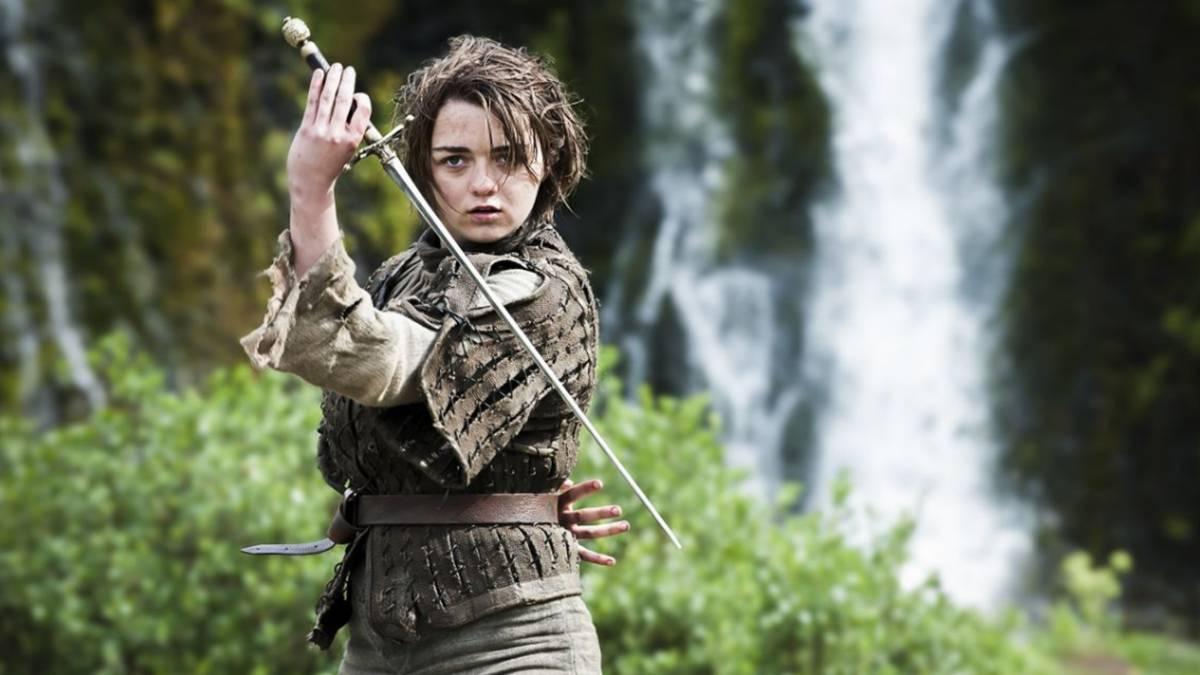 Maisie williams en Juego de tronos
