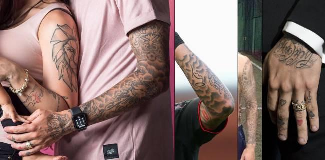 La Vida De Coutinho En El Mapa De Todos Sus Tatuajes Ascom