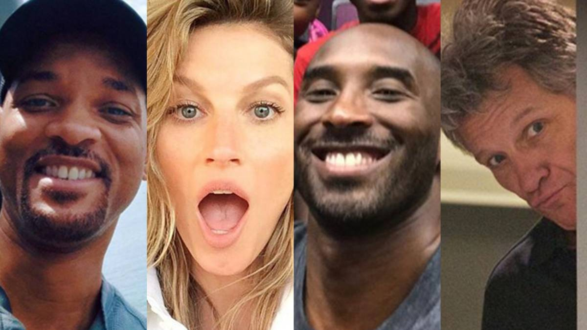 Will Smith, Gisele Bundchen, Kobe Bryant y Bon Jovi.