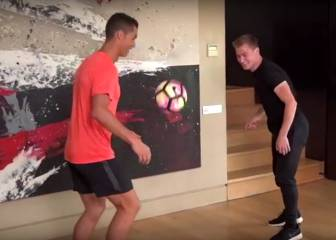 Cristiano compares freestyle skills with Andrew Henderson