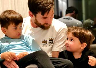 Messi, relax con
