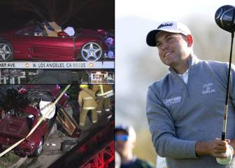 El golfista Bill Haas, herido en un accidente mortal