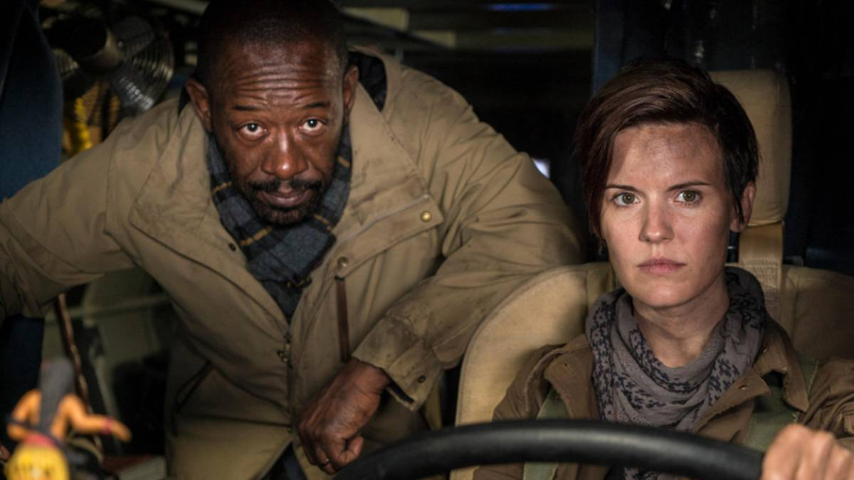 Fear The Walking Dead sorprende con el cruce con The Walking Dead