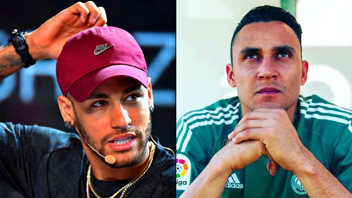 Neymar y Keylor, los nuevos nombres para los españoles