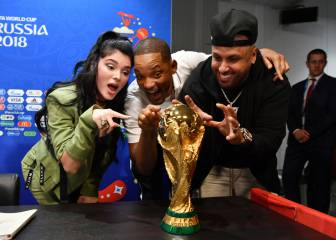 Will Smith y Nicky Jam ponen el broche de oro a la final del Mundial de Rusia