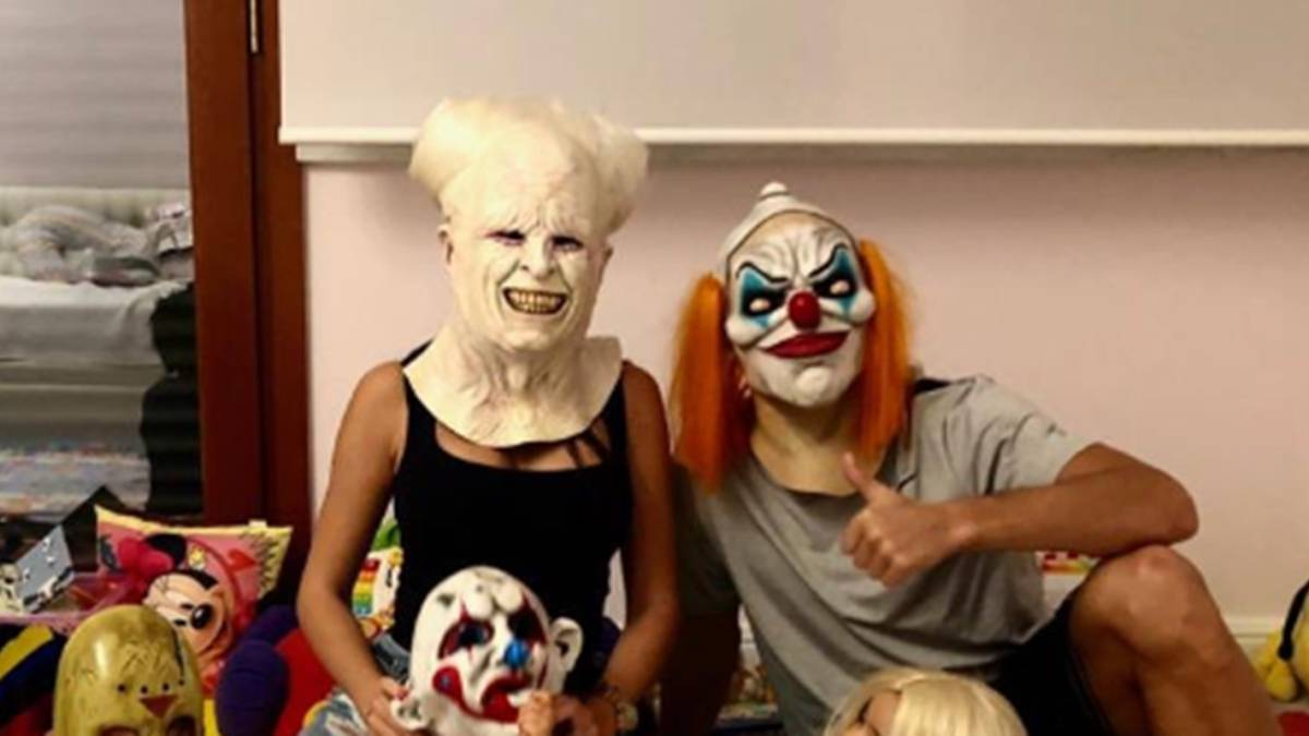 Cristiano Ronaldo tries to scare millions with family Halloween