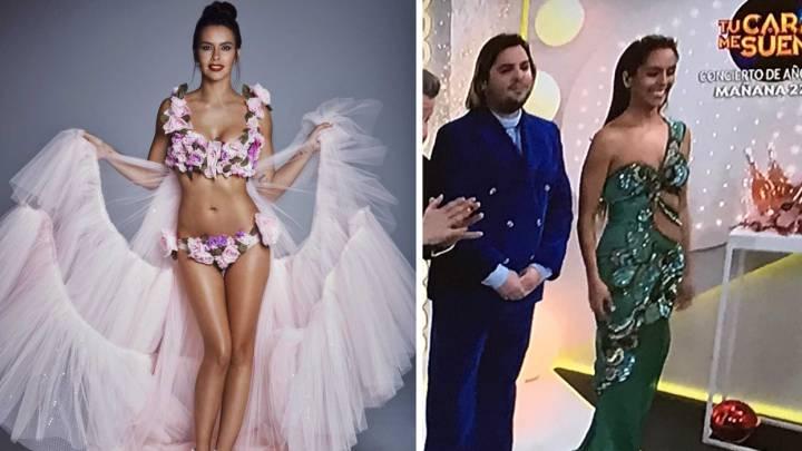 Cristina Pedroche Da Las Campanadas Muy Floreada Y Más Desnuda Que