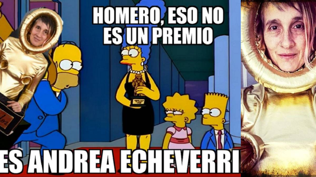 Andrea Echeverri En Los Grammy: Memes Y Comentarios Al Traje De Andrea Echeverri En Los
