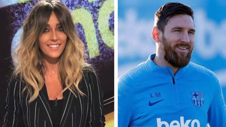 Anna Simón desvela el incómodo momento que vivió con Messi y Antonella  Rocuzzo b32987d5a1173