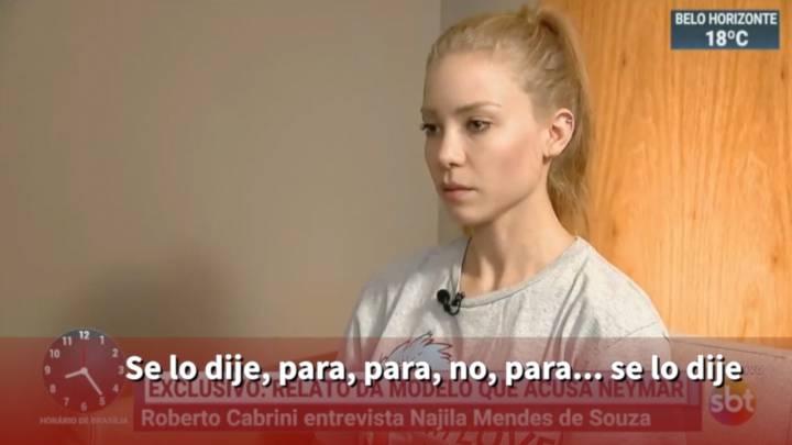 9e768b49c El testimonio de la mujer que denunció por violación a Neymar