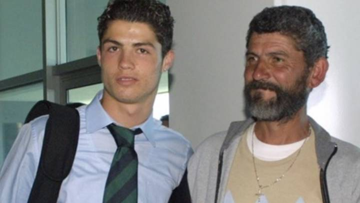 Image result for Cristiano Ronaldo with father