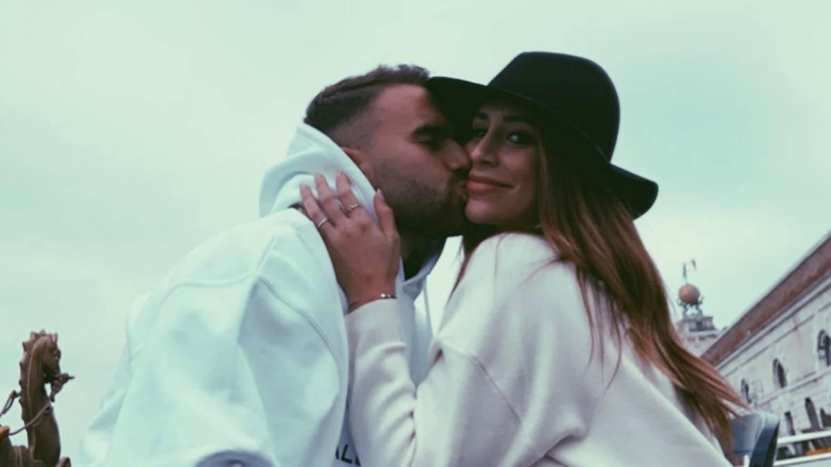 Borja Mayoral presenta en Venecia a su novia Cristina Porta, periodista deportiva - AS