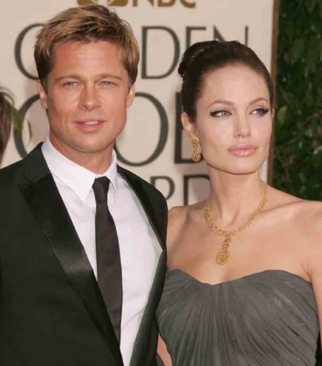 Brad Pitt visita la casa de Angelina Jolie por primera vez después de su divorcio