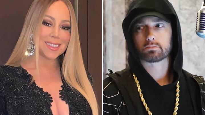 Eminem dating mariah carey phone dating app