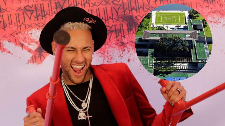Neymar's party: images from inside the Mangaratiba mansion