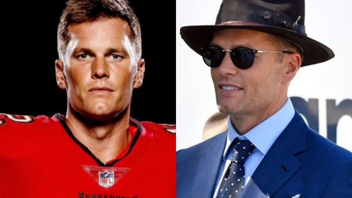 """Tom Brady goes viral with his latest and unusual 'look': """"It looks like he's going to rob a bank"""""""