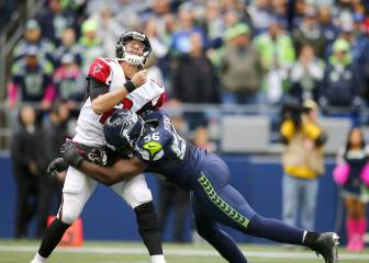 Seattle Seahawks derrota a Atlanta Falcons a base de Blitz