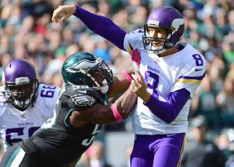 Clinic defensivo de los Eagles para recibir a Sam Bradford