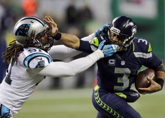 Costoso y contundente triunfo de Seahawks sobre Panthers