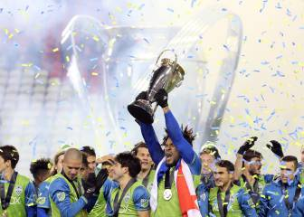 Seattle Sounders del mexicano Tony Alfaro, campeón de la MLS