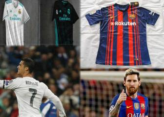 Madrid and Barça, 2nd and 3rd in global shirt sales ranking