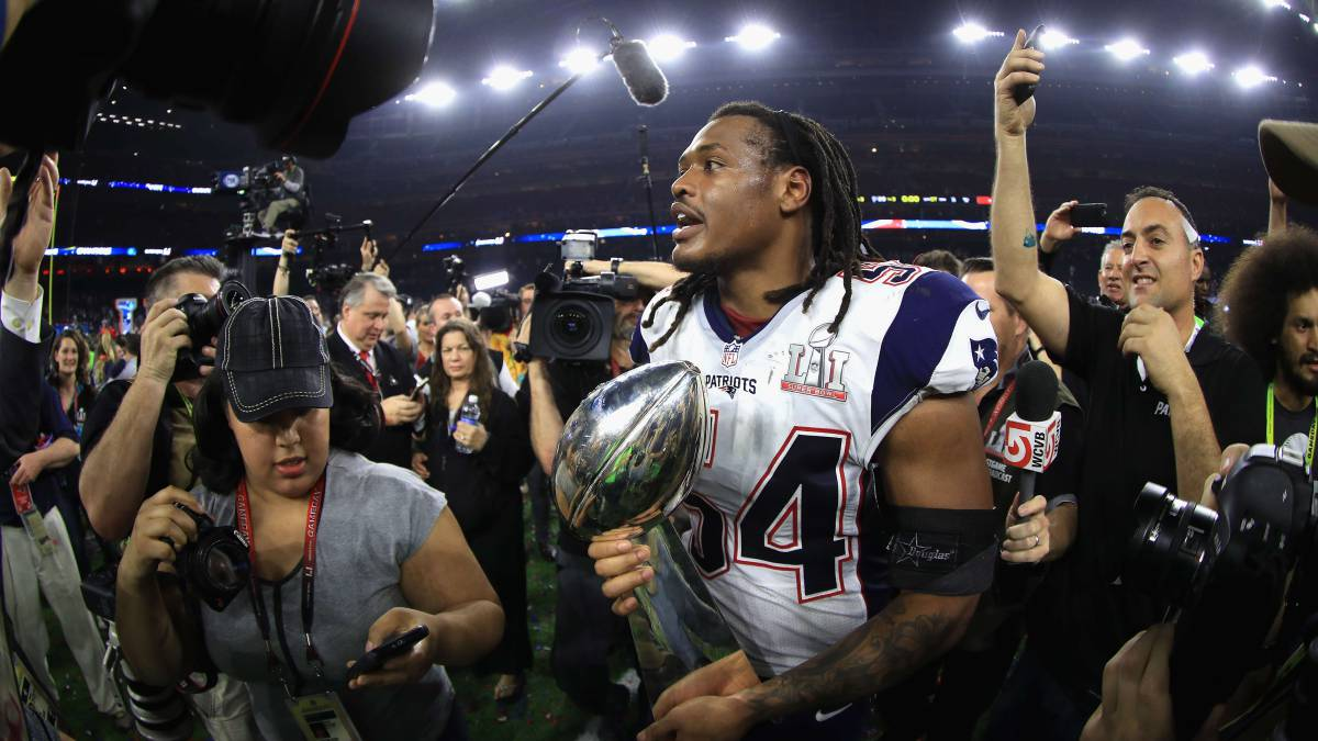 Los Patriots ni se inmutan con Dont'a Hightower en el mercado