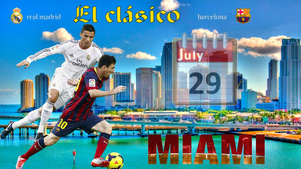 First 'El Clásico' in the USA while Man Utd and Juventus await