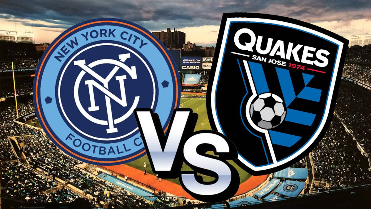 NYCFC vs Earthquakes en directo y en vivo online, JORNADA 5 de MLS 2017. hoy, 1 de abril a las 2:00 pm ET / 11:00 am PT horas en As.